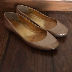 J. Crew Nude Flats Size 6.5
